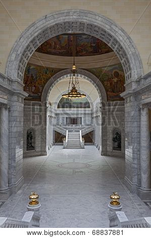 Interior of the State Capitol of Utah