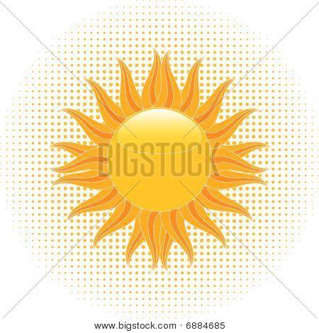 Blazing Summer Sun