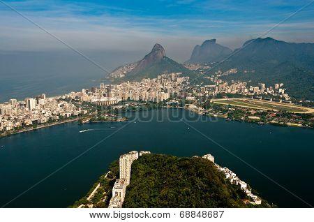 Rio de Janeiro Aerial Landscape