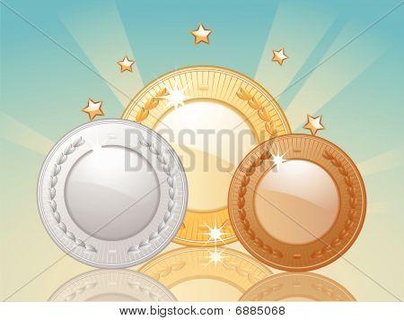 Winner's Medals