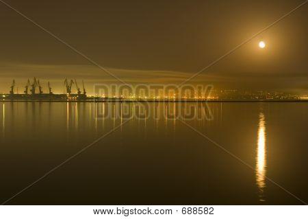 poster of Baku City At Night