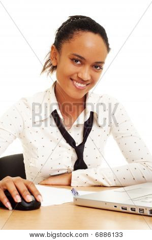 Smiley Businesswoman