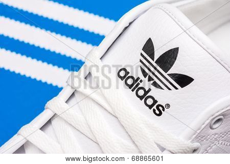 Adidas Sport Shoes Close Up