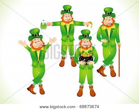 Abstract St Patrick Day Background