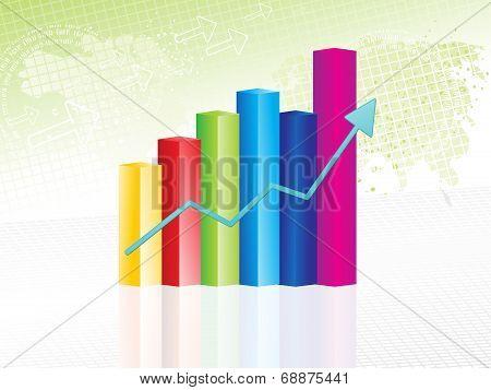 Abstract Progress Chart