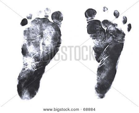 Baby's Footprints
