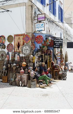 Morocco Crafts Shop