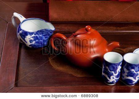 Tradicional casa de té