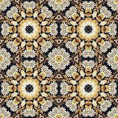 pic of applique  - Abstract seamless artistic pattern - JPG