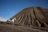picture of bromo  - Indonesian volcano - JPG