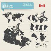 image of political map  - vector basics - JPG