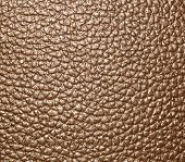 stock photo of unnatural  - Brown textured leather background jagged walls and floors - JPG