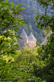 image of armenia  - Photo of Haghartsin Monastery in Armenia  surrounded with forest - JPG