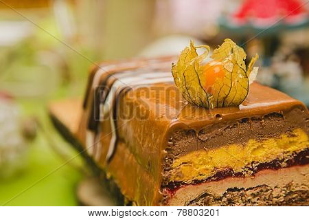 Sweet buffet. Cake