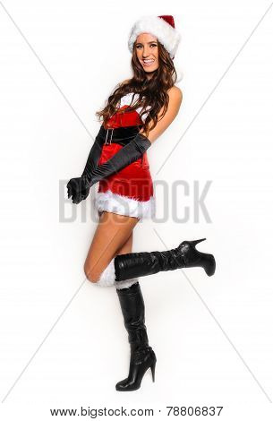 Sexy Santas Helper girl