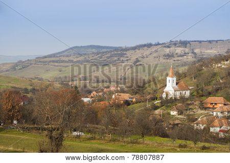 Old Transylvanian village