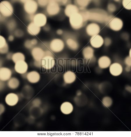 Art Abstract Festive  Background With Bokeh Defocused Lights And Stars. Glitter Vintage Lights Backg