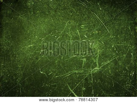 Grungy Abstract  Textured Background  With Spotlight And Scratches. Old Surface Backdrop  For Your D