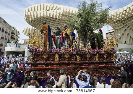Holly Week In Seville