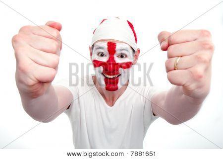 England Fan Cheering