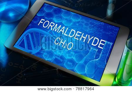 the chemical formula of formaldehyde