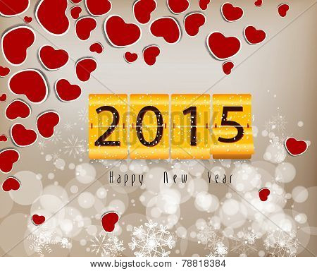 Happy new year abstract background