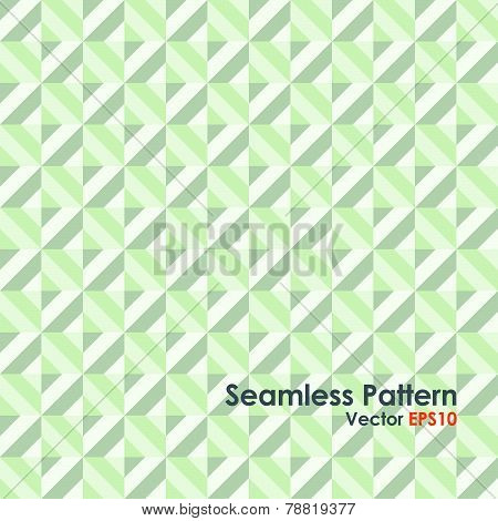Green Abstract Rectangle Seamless Pattern