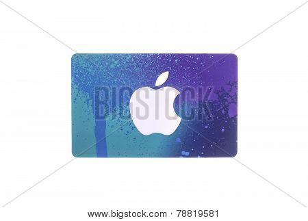 Apple Itunes Card