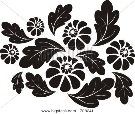 floral flower decoration