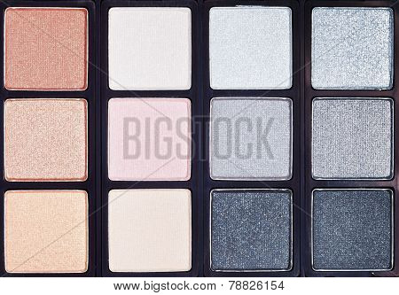 Background From Makeup Cosmetics Close Up