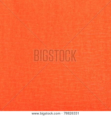 Square Background From Fibrous Structure Red Paper