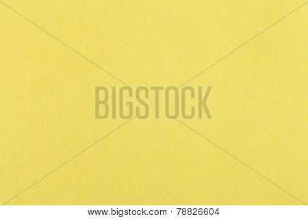 Background From Sheet Of Color Yellow Fiber Paper