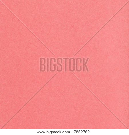Square Background From Coral Colored Pastel Pape