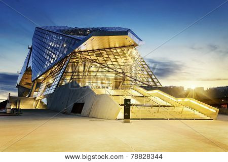 Confluences Museum In Lyon