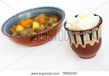 Beef Stew With Rice
