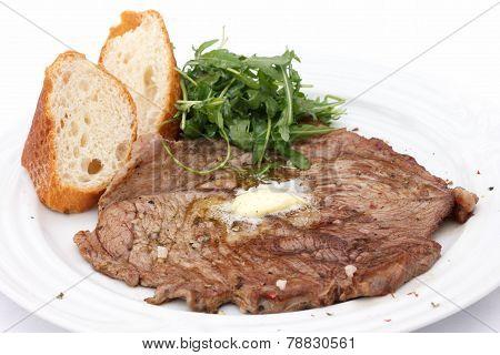 Perfect roast pork skirt steak