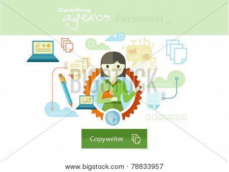 Advertising expert of marketing profession series