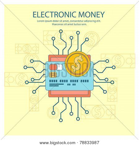 Electronic money concept