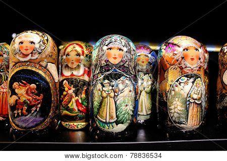 Russian Wooden Dolls.