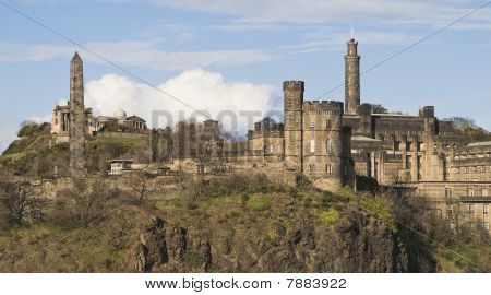 Calton Hill, Edinburgh, in Late Sun