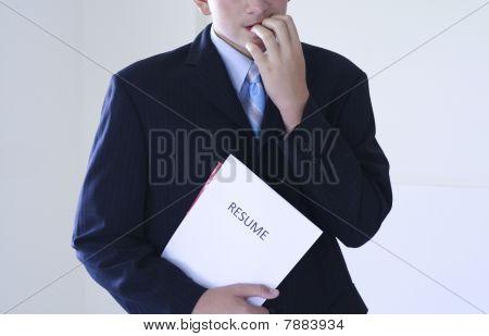young job seeker