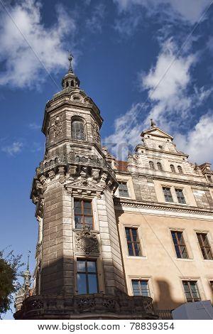 Dresden Tower Of Katholische Hofkirche