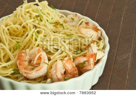 Shrimp and Pasta