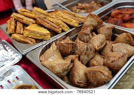 Indian Appetizer Samosa