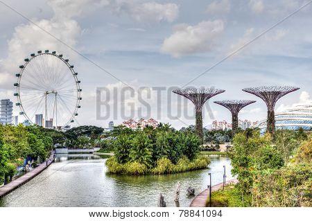 Singapore At Marina Bay