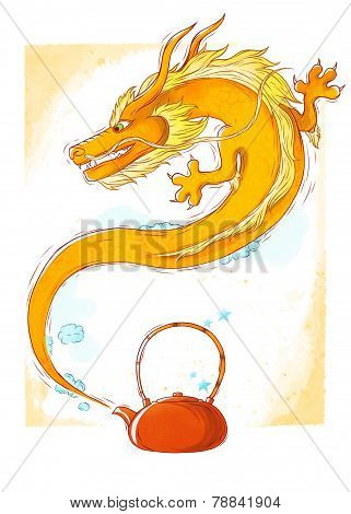 Teapot dragon