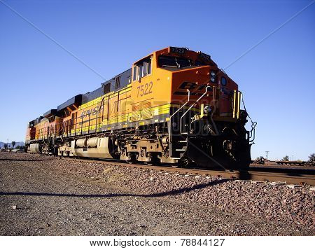 Bnsf Freight Train Locomotive No. 7522