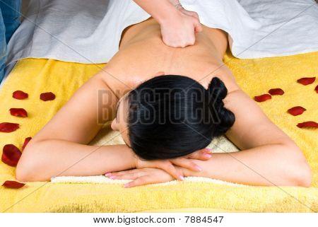 Deep Back Massage Woman