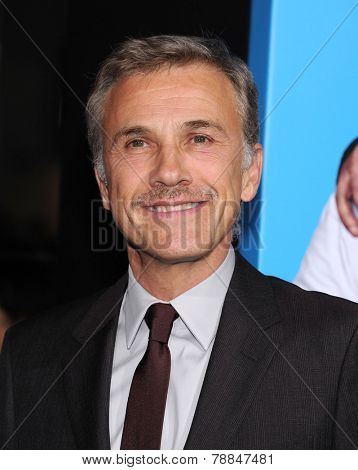 LOS ANGELES - NOV 20:  Christoph Waltz arrives to the