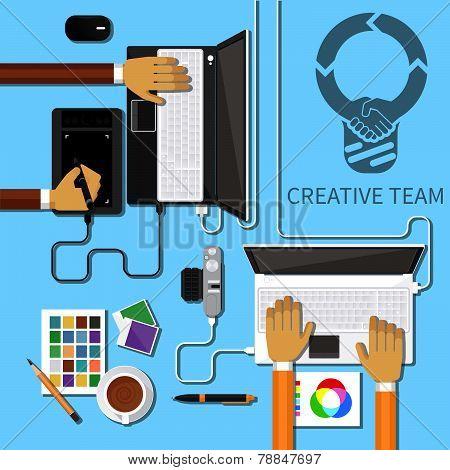 Creative Team Flat
